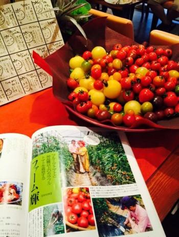 トマトと雑誌